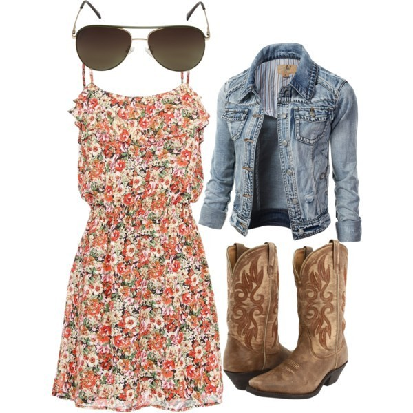 floral-outfits-111 84+ Breathtaking Floral Outfit Ideas for All Seasons 2018