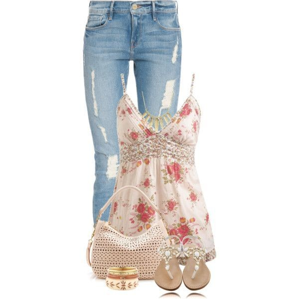 floral-outfits-117 84+ Breathtaking Floral Outfit Ideas for All Seasons 2018