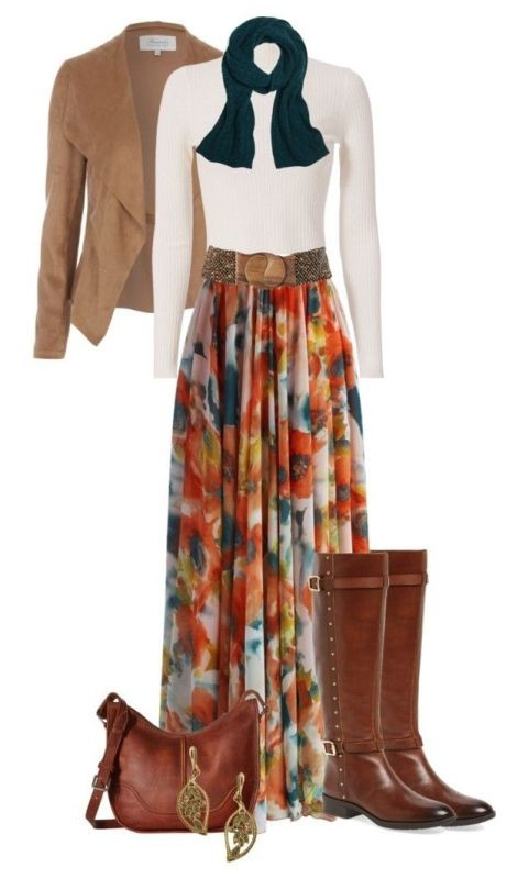 floral-outfits-12 84+ Breathtaking Floral Outfit Ideas for All Seasons 2017