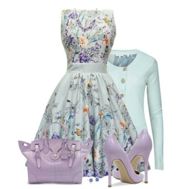 floral-outfits-121 84+ Breathtaking Floral Outfit Ideas for All Seasons 2018