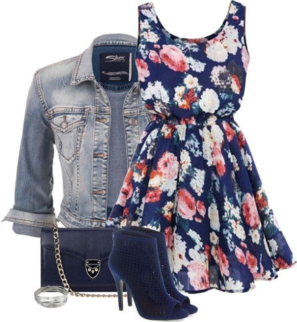 floral-outfits-126 84+ Breathtaking Floral Outfit Ideas for All Seasons 2018