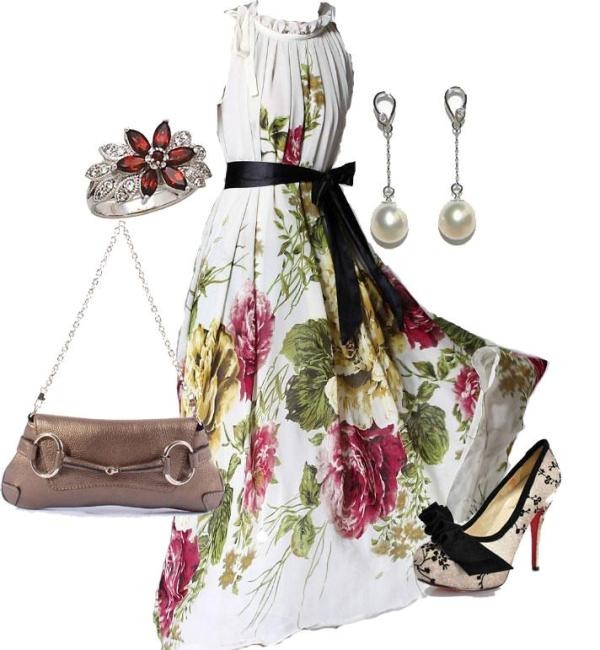 floral-outfits-127 84+ Breathtaking Floral Outfit Ideas for All Seasons 2017