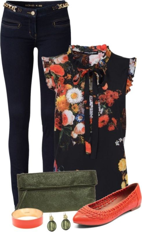 floral-outfits-13 84+ Breathtaking Floral Outfit Ideas for All Seasons 2018