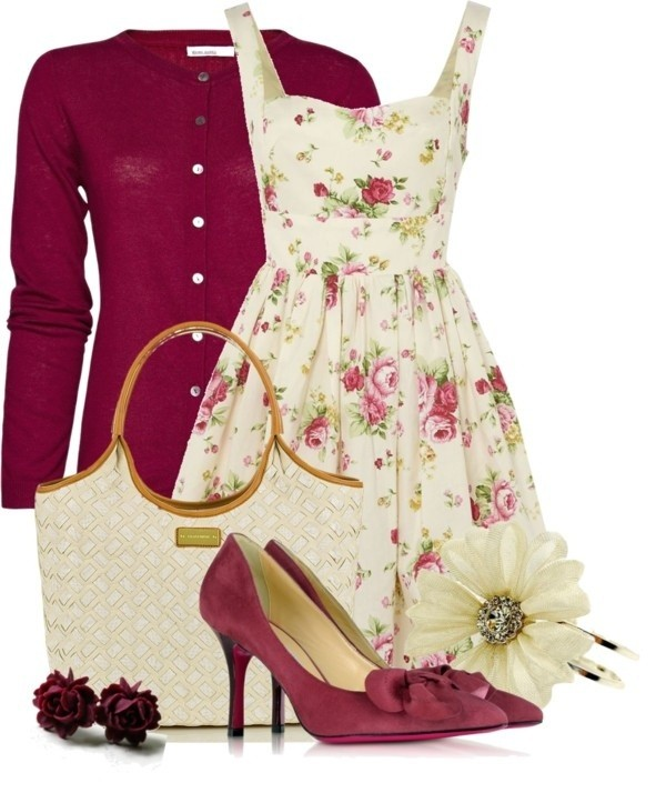 floral-outfits-132 84+ Breathtaking Floral Outfit Ideas for All Seasons 2018
