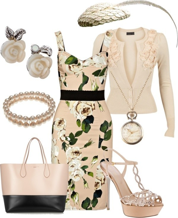 floral-outfits-134 84+ Breathtaking Floral Outfit Ideas for All Seasons 2018