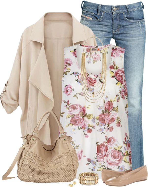 floral-outfits-140 84+ Breathtaking Floral Outfit Ideas for All Seasons