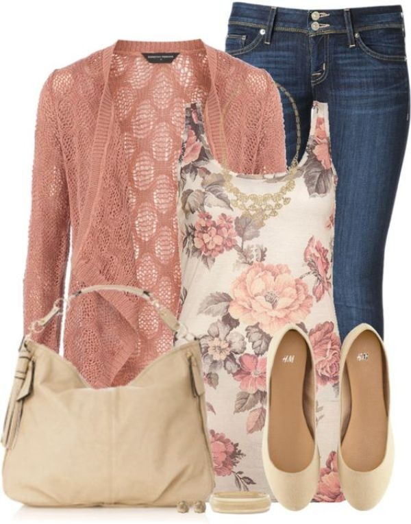 floral-outfits-141 84+ Breathtaking Floral Outfit Ideas for All Seasons 2018