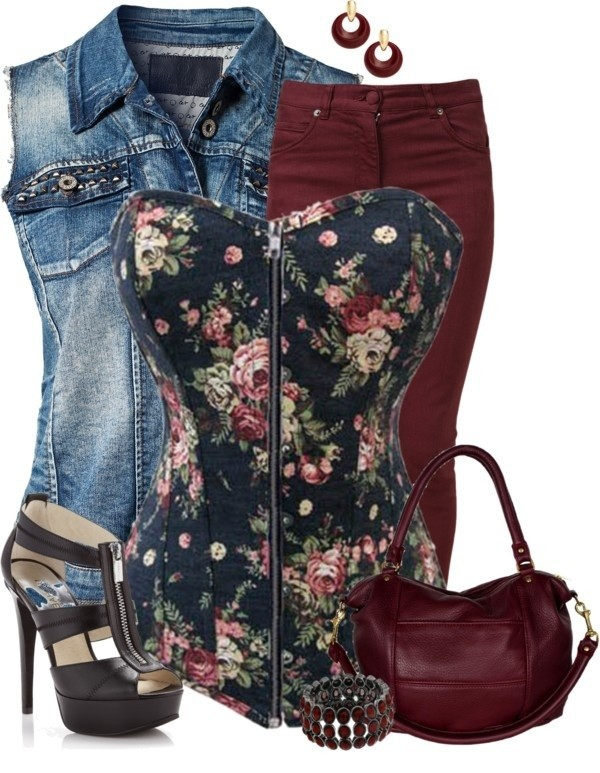 floral-outfits-144 84+ Breathtaking Floral Outfit Ideas for All Seasons 2018
