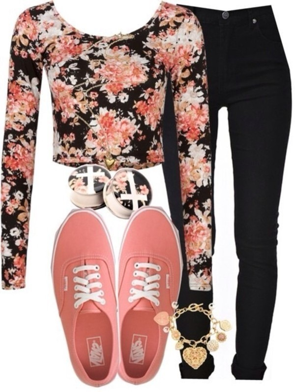 floral-outfits-148 84+ Breathtaking Floral Outfit Ideas for All Seasons 2018