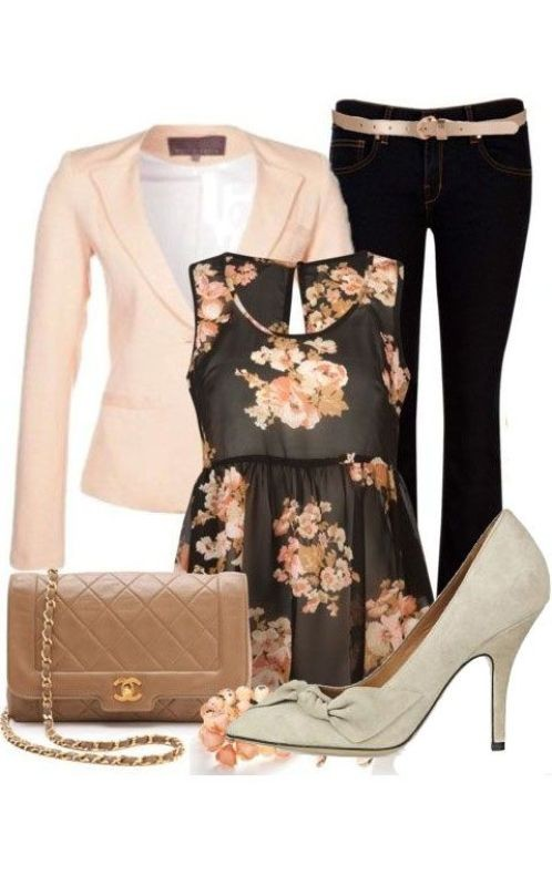 floral-outfits-15 84+ Breathtaking Floral Outfit Ideas for All Seasons 2018