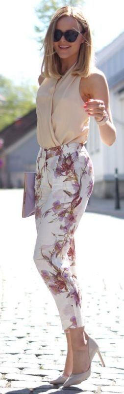 floral-outfits-155 84+ Breathtaking Floral Outfit Ideas for All Seasons 2017