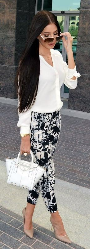 floral-outfits-156 84+ Breathtaking Floral Outfit Ideas for All Seasons 2018
