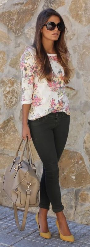 floral-outfits-157 84+ Breathtaking Floral Outfit Ideas for All Seasons 2018