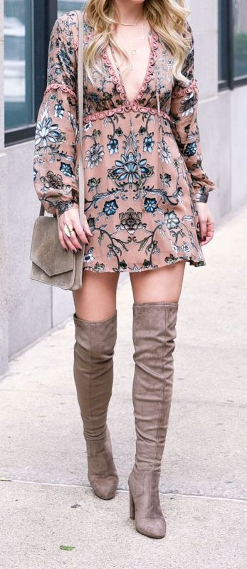 floral-outfits-158 84+ Breathtaking Floral Outfit Ideas for All Seasons 2017