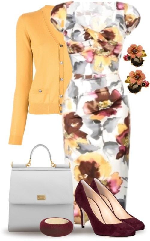 floral-outfits-16 84+ Breathtaking Floral Outfit Ideas for All Seasons 2018