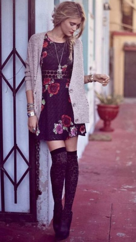 floral-outfits-162 84+ Breathtaking Floral Outfit Ideas for All Seasons 2017