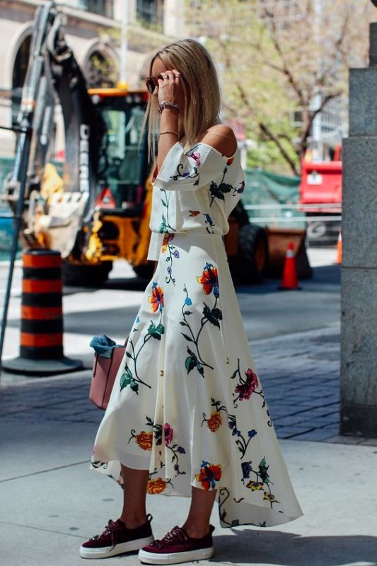 floral-outfits-166 84+ Breathtaking Floral Outfit Ideas for All Seasons 2018