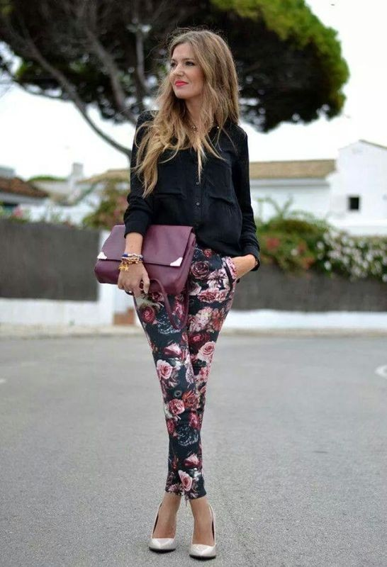 floral-outfits-179 84+ Breathtaking Floral Outfit Ideas for All Seasons 2018