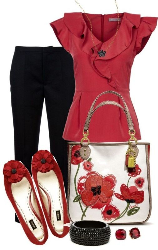 floral-outfits-18 84+ Breathtaking Floral Outfit Ideas for All Seasons 2018