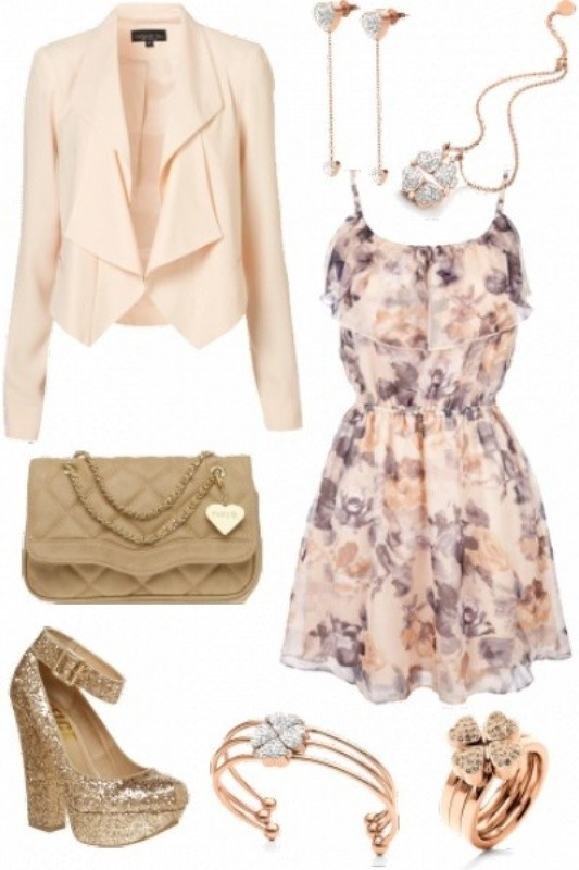 floral-outfits-28 84+ Breathtaking Floral Outfit Ideas for All Seasons 2018