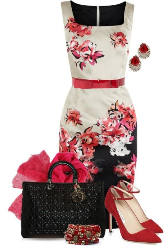 floral-outfits-29 84+ Breathtaking Floral Outfit Ideas for All Seasons 2018