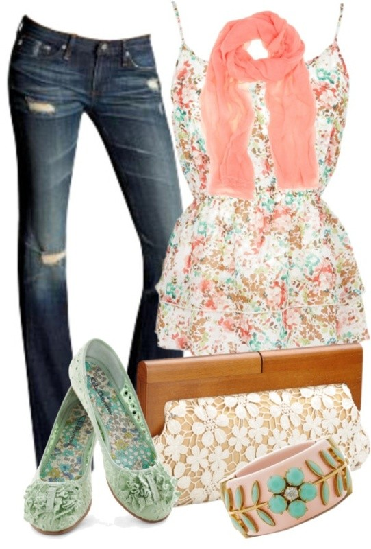 floral-outfits-30 84+ Breathtaking Floral Outfit Ideas for All Seasons 2018