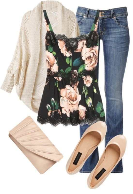 floral-outfits-34 84+ Breathtaking Floral Outfit Ideas for All Seasons 2018