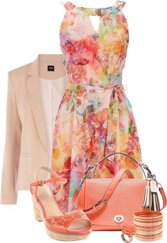 floral-outfits-37 84+ Breathtaking Floral Outfit Ideas for All Seasons 2018