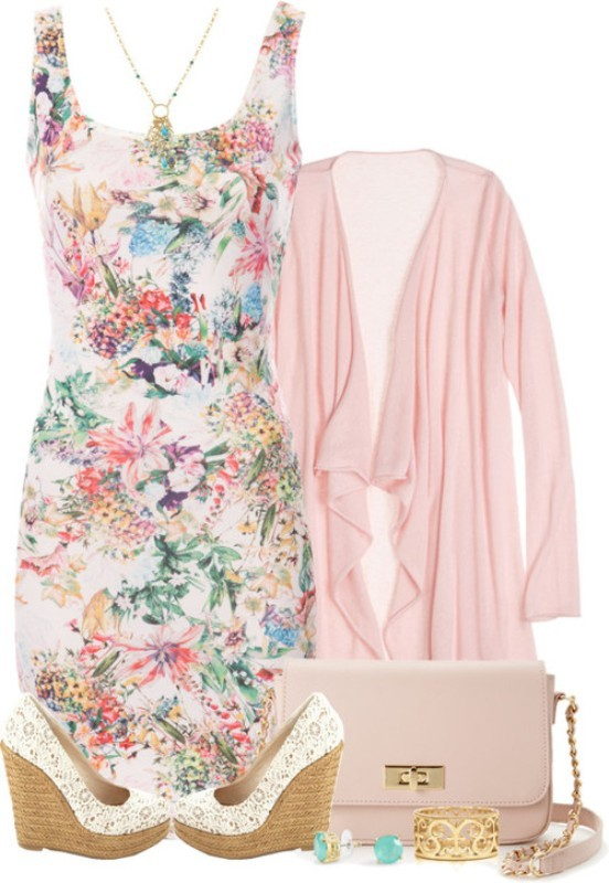 floral-outfits-38 84+ Breathtaking Floral Outfit Ideas for All Seasons 2018