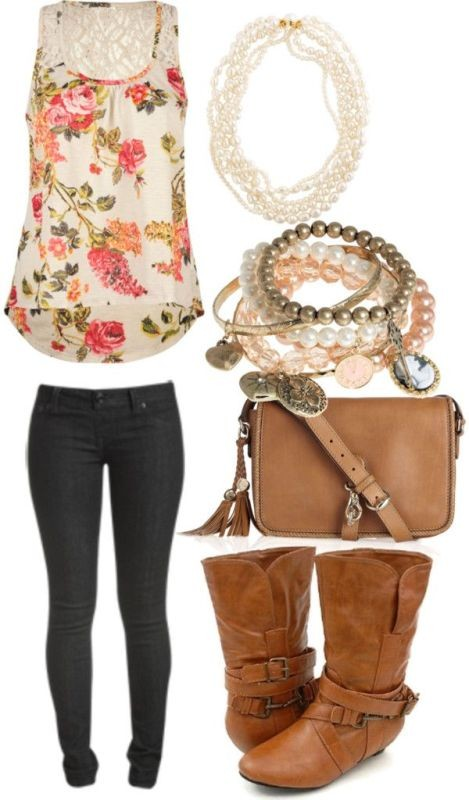 floral-outfits-4 84+ Breathtaking Floral Outfit Ideas for All Seasons