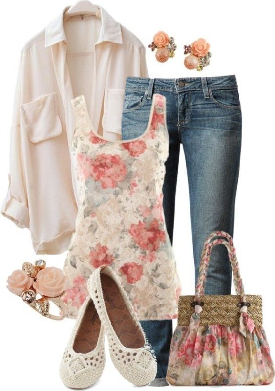 floral-outfits-42 84+ Breathtaking Floral Outfit Ideas for All Seasons 2018
