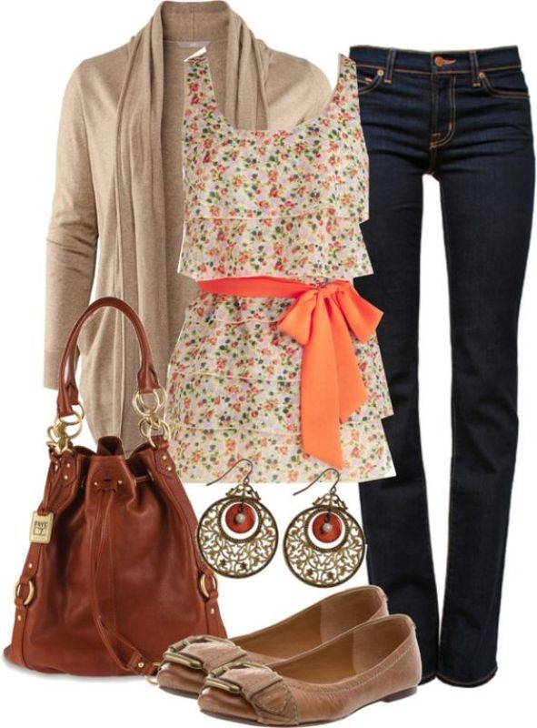 floral-outfits-49 84+ Breathtaking Floral Outfit Ideas for All Seasons 2018