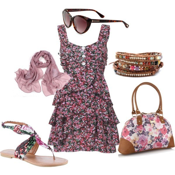 floral-outfits-52 84+ Breathtaking Floral Outfit Ideas for All Seasons 2018