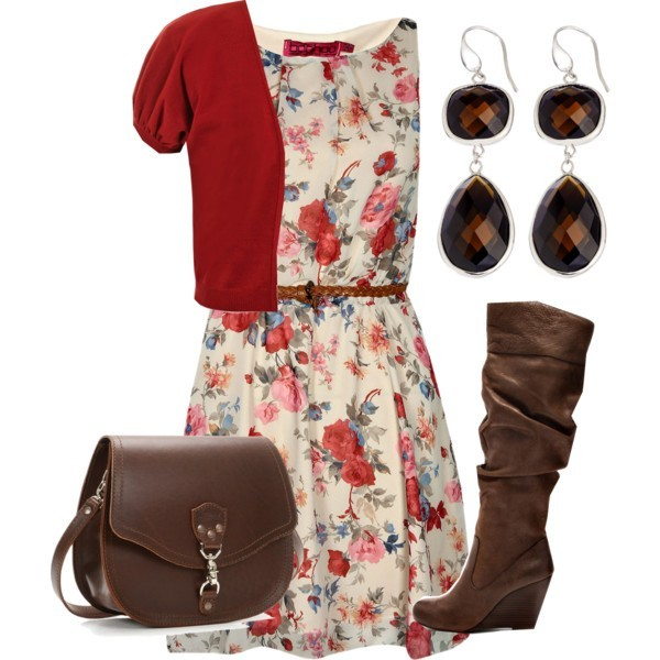 floral-outfits-58 84+ Breathtaking Floral Outfit Ideas for All Seasons 2018