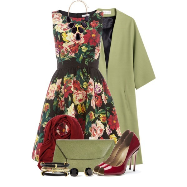 floral-outfits-60 84+ Breathtaking Floral Outfit Ideas for All Seasons 2018