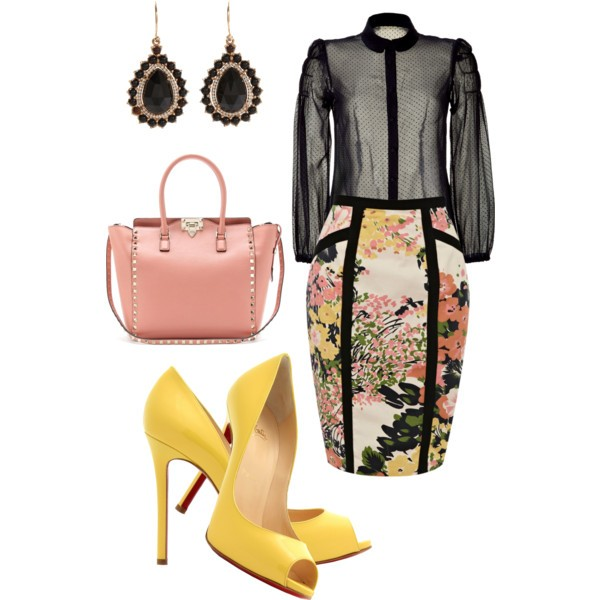 floral-outfits-61 84+ Breathtaking Floral Outfit Ideas for All Seasons