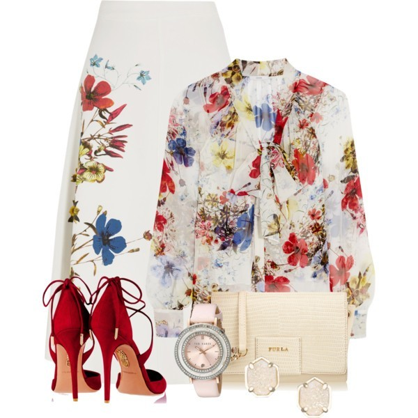 floral-outfits-70 84+ Breathtaking Floral Outfit Ideas for All Seasons 2018