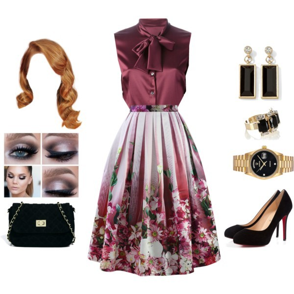 floral-outfits-73 84+ Breathtaking Floral Outfit Ideas for All Seasons