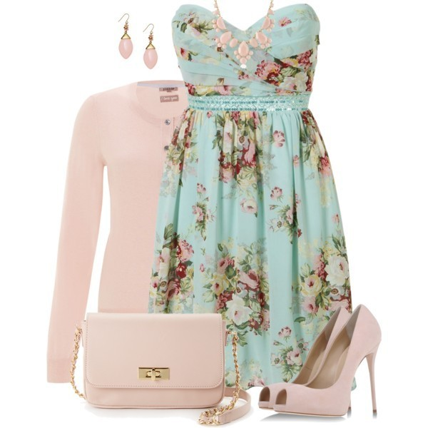 floral-outfits-79 84+ Breathtaking Floral Outfit Ideas for All Seasons 2018