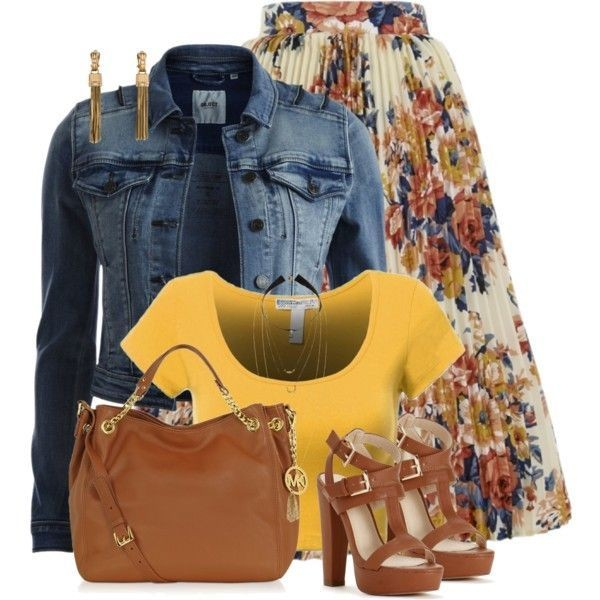 floral-outfits-85 84+ Breathtaking Floral Outfit Ideas for All Seasons 2018