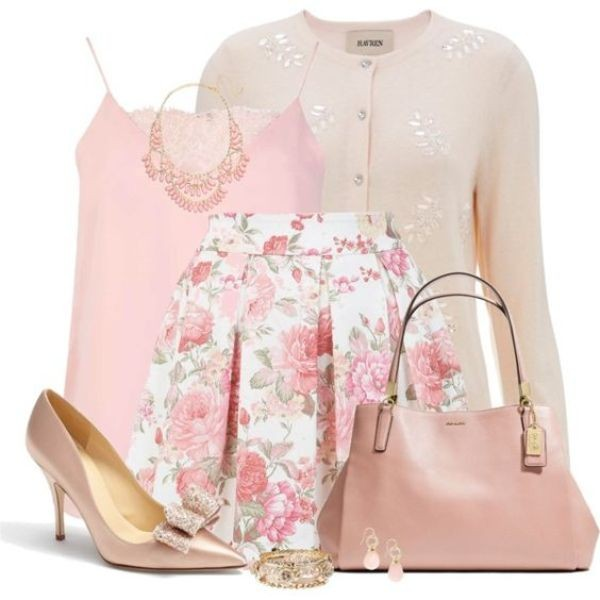 floral-outfits-89 84+ Breathtaking Floral Outfit Ideas for All Seasons 2018