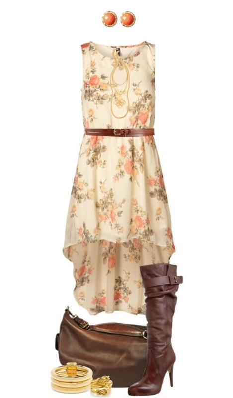 floral-outfits-9 84+ Breathtaking Floral Outfit Ideas for All Seasons 2018
