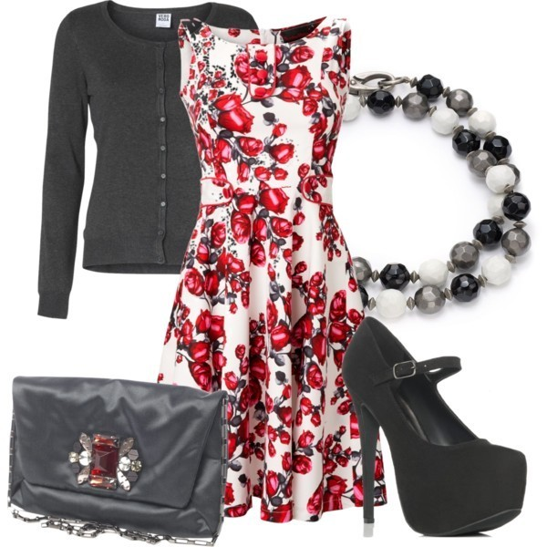 floral-outfits-92 84+ Breathtaking Floral Outfit Ideas for All Seasons 2018
