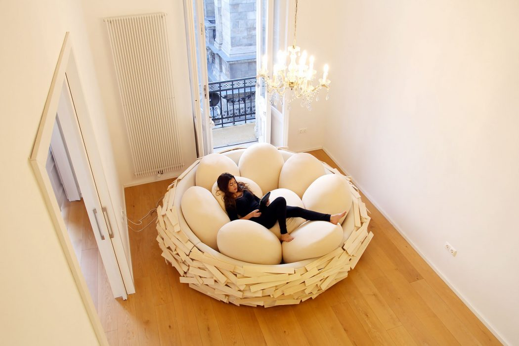 giantbirdnest2 12 Unusual and Innovative Beds Ever