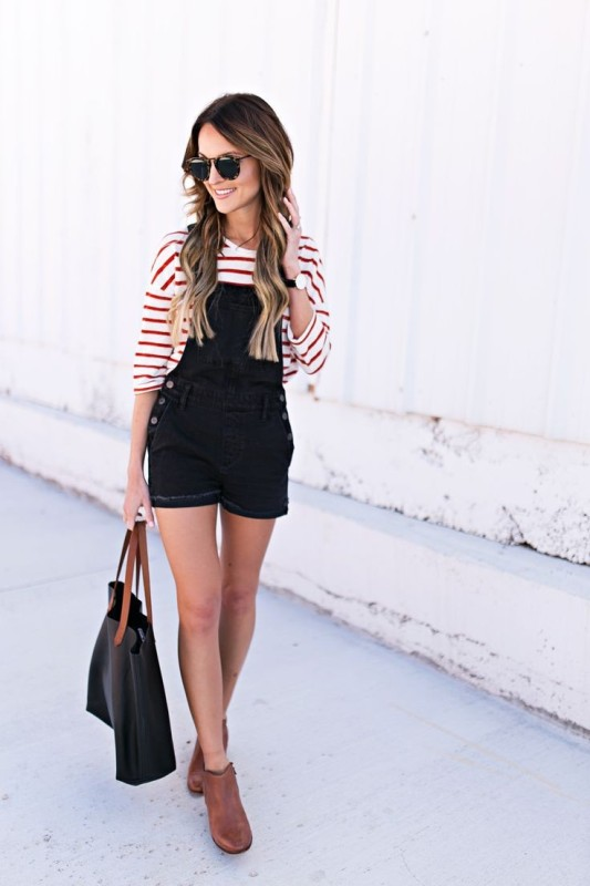 horizontal-stripes-1 77+ Elegant Striped Outfit Ideas and Ways to Wear Stripes in 2018