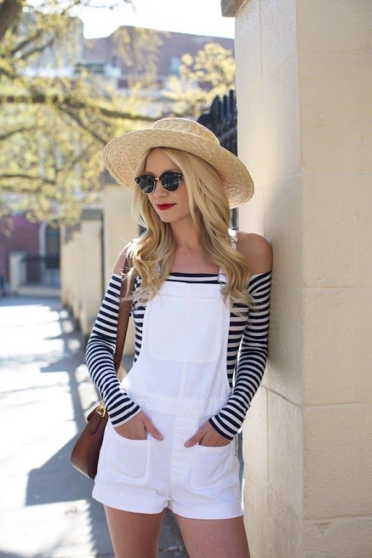 horizontal-stripes-11 77+ Elegant Striped Outfit Ideas and Ways to Wear Stripes in 2018