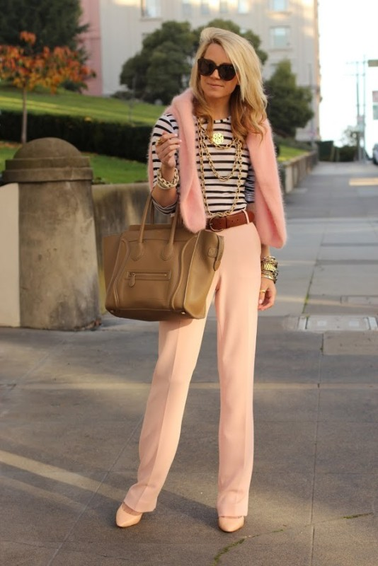 horizontal-stripes-12 77+ Elegant Striped Outfit Ideas and Ways to Wear Stripes in 2018