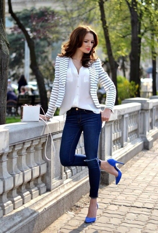 horizontal-stripes-14 77+ Elegant Striped Outfit Ideas and Ways to Wear Stripes in 2018