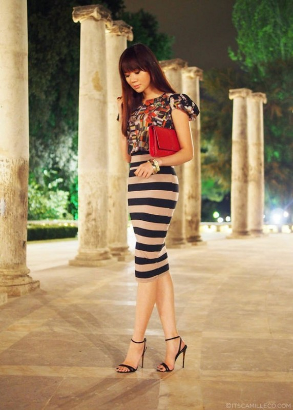 horizontal-stripes-15 77+ Elegant Striped Outfit Ideas and Ways to Wear Stripes