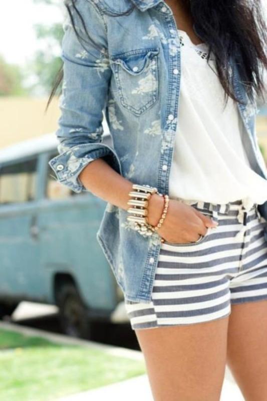horizontal-stripes-5 77+ Elegant Striped Outfit Ideas and Ways to Wear Stripes